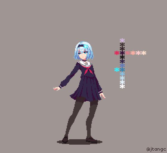 James T. (@jtangc) | Twitter | Pixel art characters, Pixel