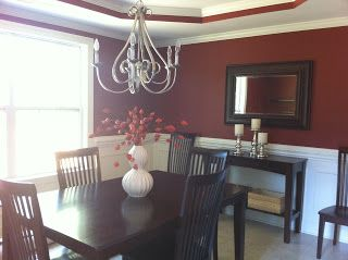 Sherwin Williams Barn Red Dining Room Dining Room