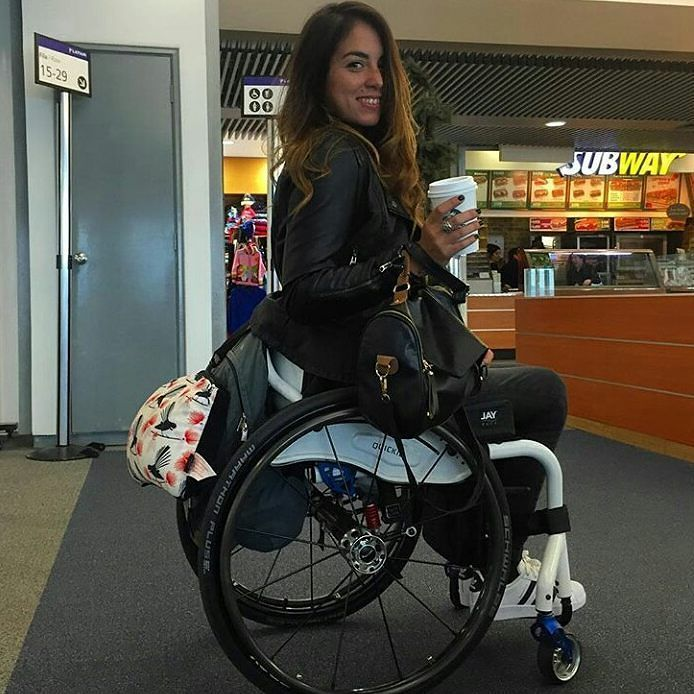 Dating sim girl in wheelchair