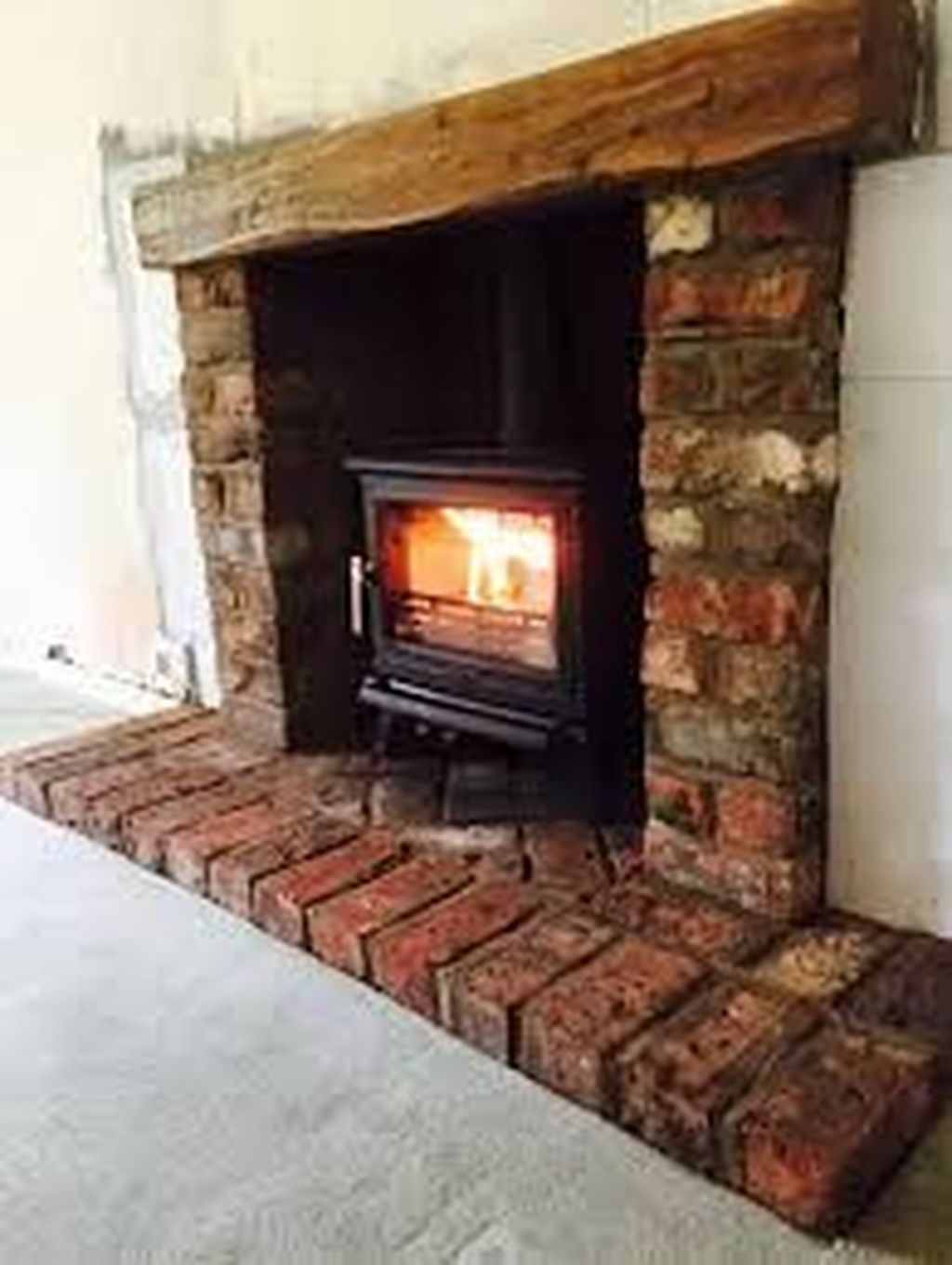 30 Modern Brick Fireplace Decorations Ideas For Living Room In