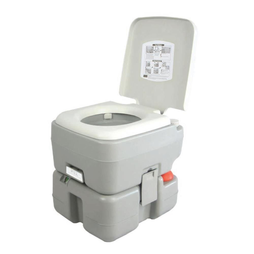 Serenelife 5 3 Gal Portable Outdoor And Travel Toilet Portable