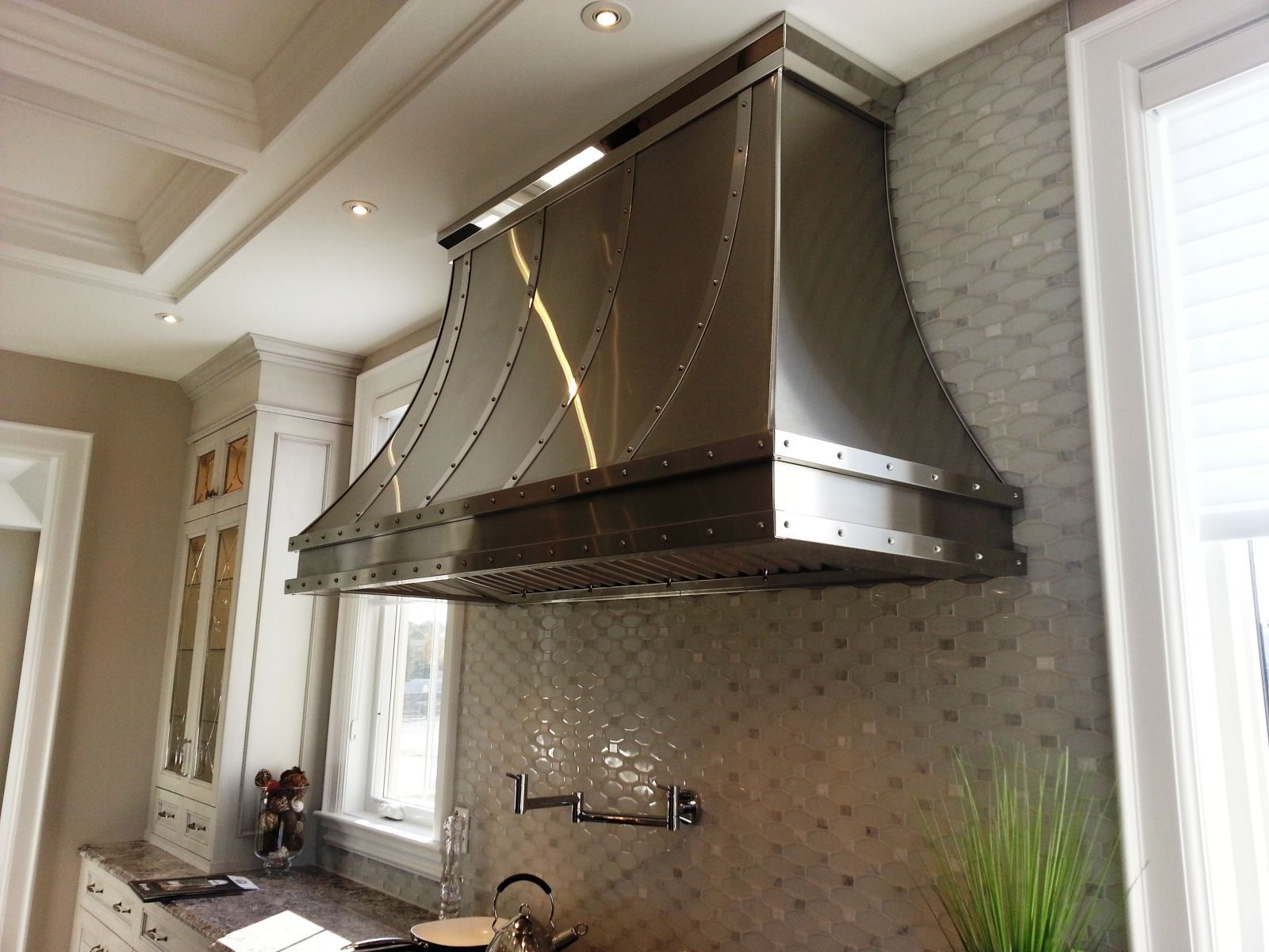 Custom Curved Stove Glass