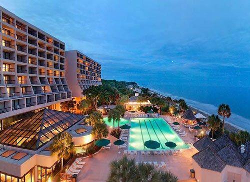 Marriott Resort Spa On Hilton Head Island Where We Spent Our 1 Yr Anniversary