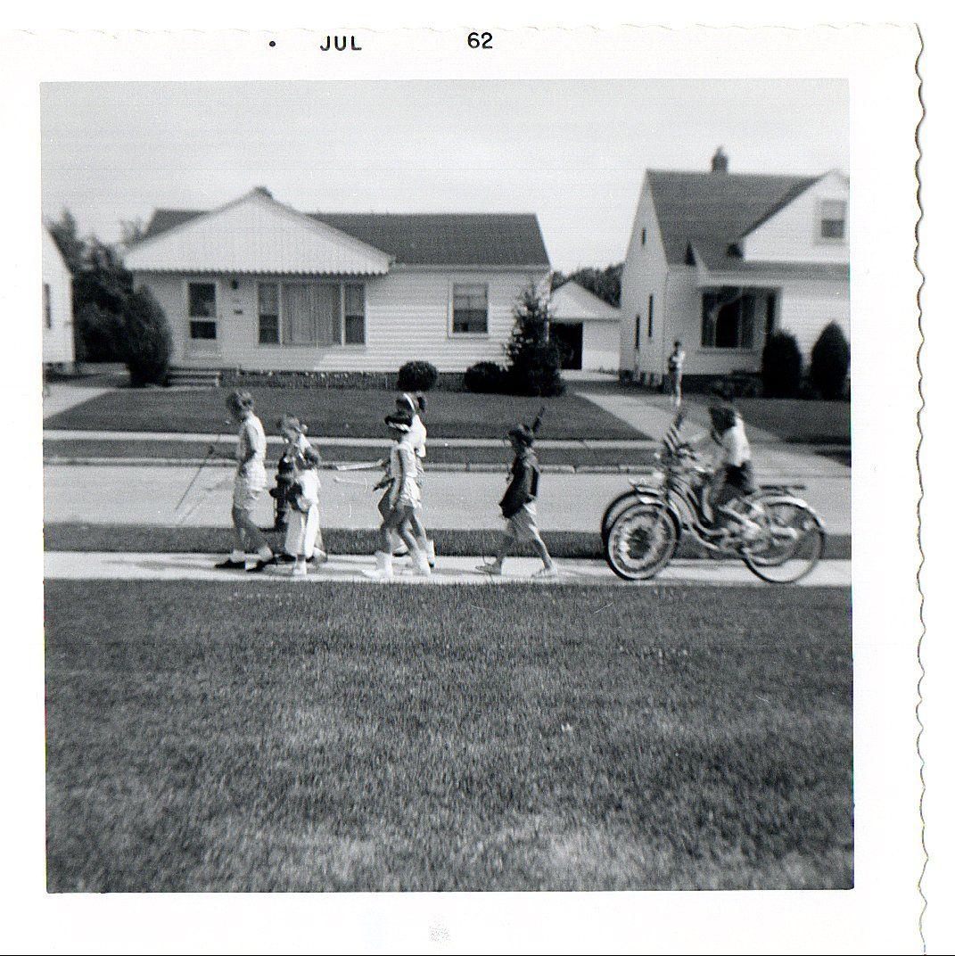 1950s Suburban Culture American