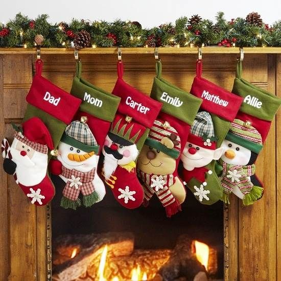2014 Personalized Christmas Stockings Etsy Online Christmas