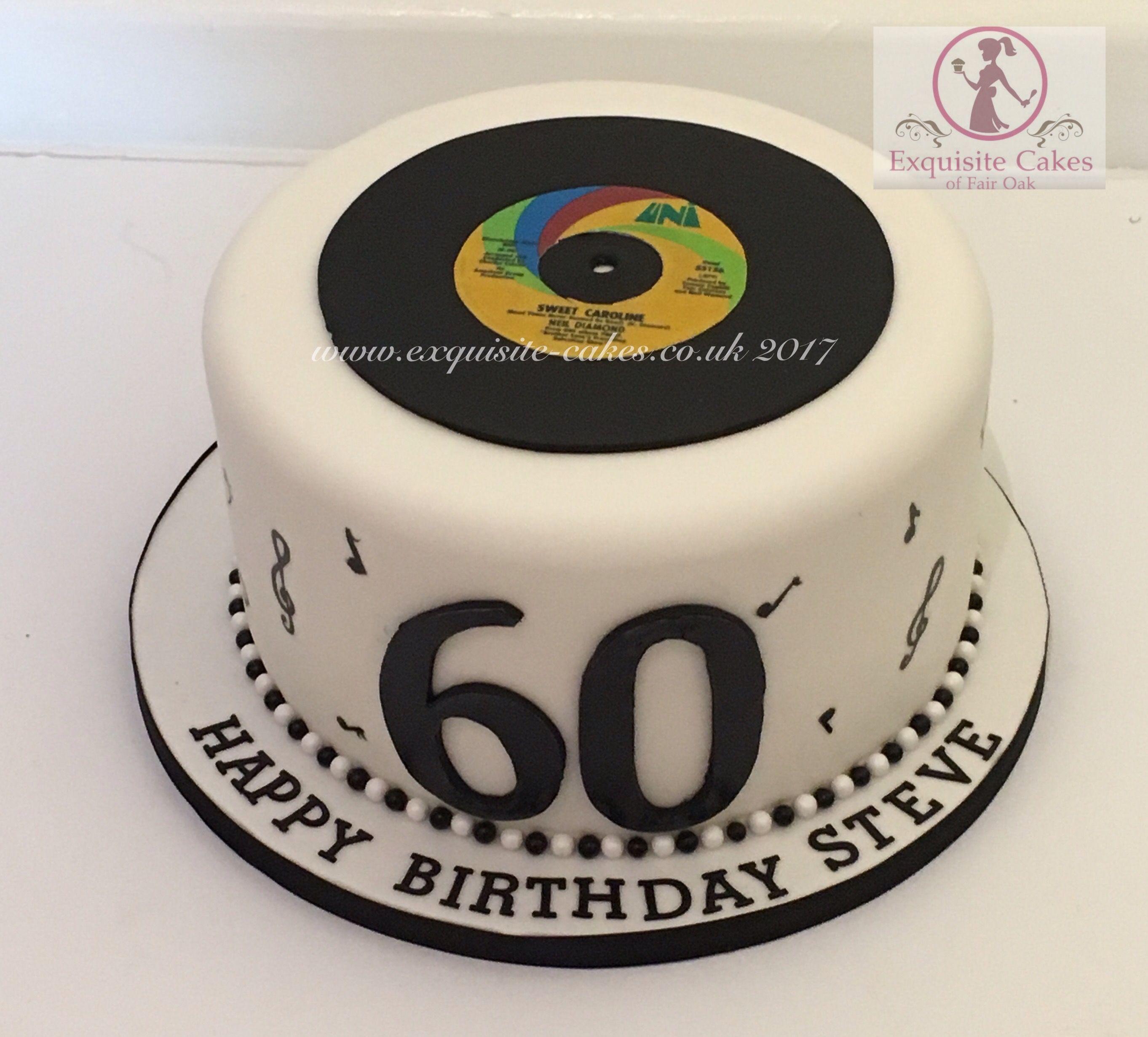 Old Vinyl Record Cake Record Cake Dad Cake Cake