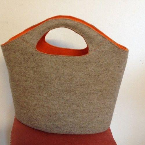 Tasche FILZ / PDF | Nähen | Pinterest | Sewing, Sewing Projects und ...