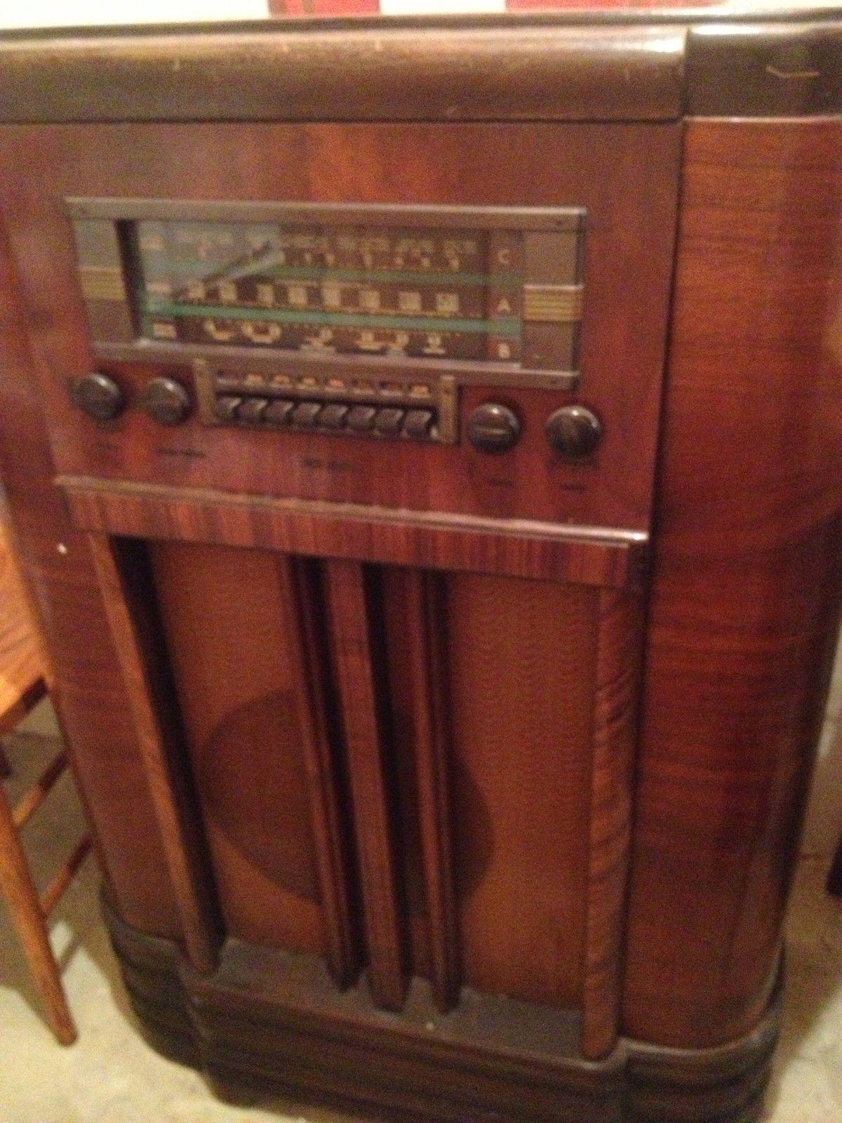 Vintage RCA Victor Radio Reciever Model K80 | eBay