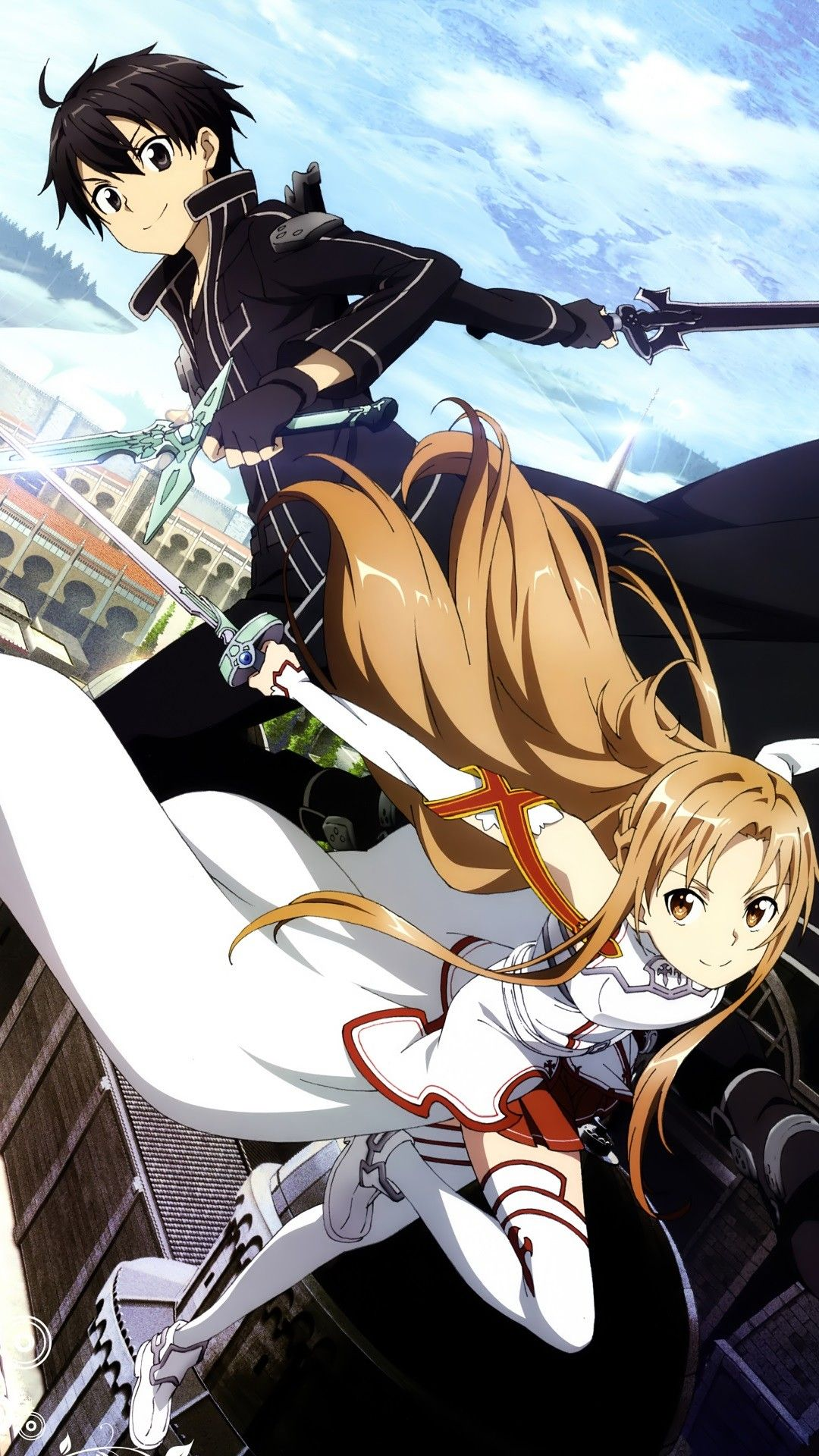 Sword Art Online Wallpaper 1080x1920 Sword Art Online