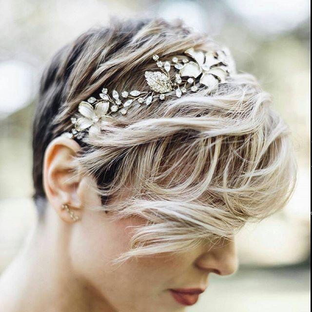 Short Hairstyles For Weddings Photo From Nothingbutpixies  Short Hair  Pinterest  Short Hair
