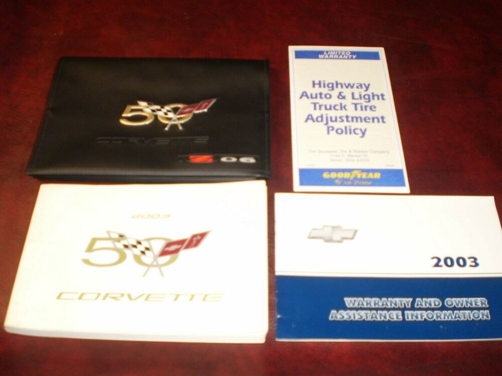 Ebay Sponsored 2003 03 Chevrolet Corvette Original Zo6 Car Owners Manual Books Zo6 Case Car Owners Manuals Corvette Chevrolet Corvette