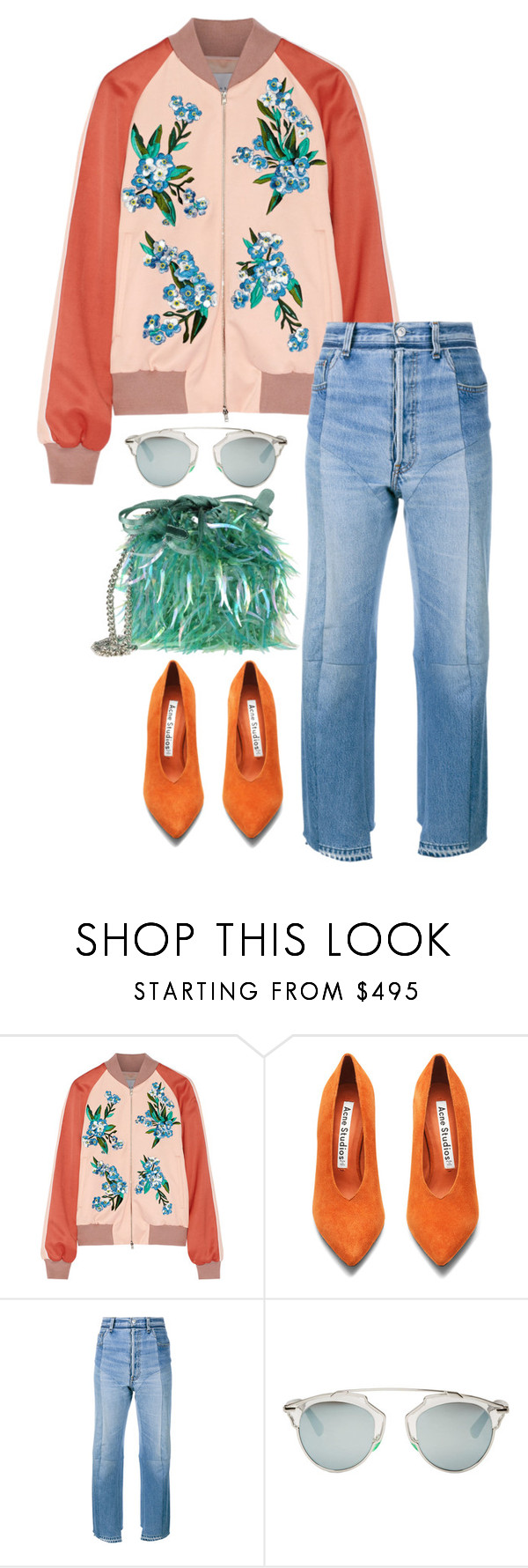 """""""Casually."""" by ideasonthebrain ❤ liked on Polyvore featuring Jonathan Saunders, Acne Studios, Vetements, Christian Dior and Alberta Ferretti"""
