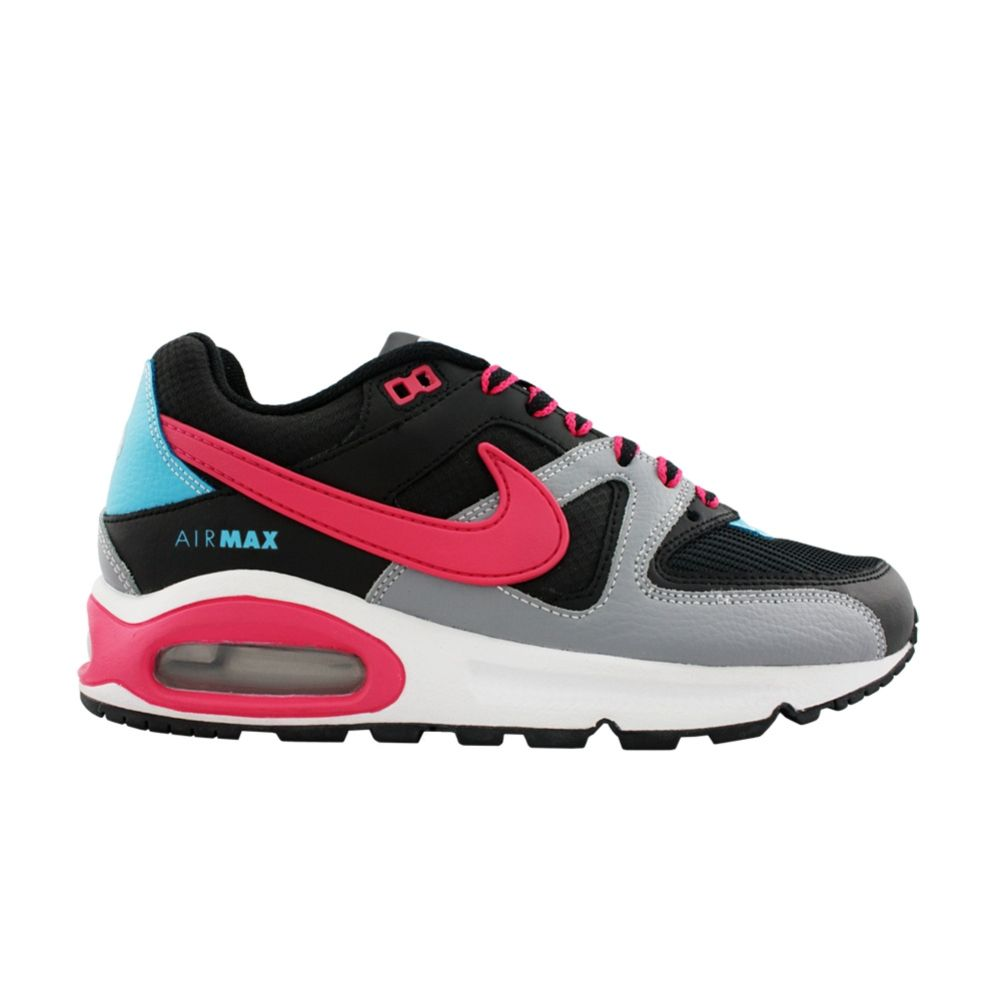 8d7495b0d8c3 Womens Nike Air Max Command Athletic Shoe in Black Grey Pink Blue ...
