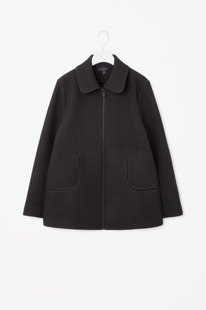 COS | Textured A-line jacket