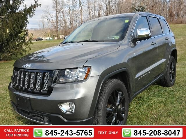 2013 Jeep Grand Cherokee Laredo Altitude W Moonroof Grey 30 997