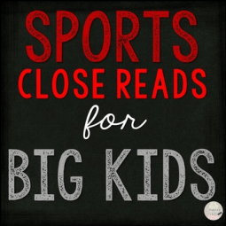 sports reads for middle grades