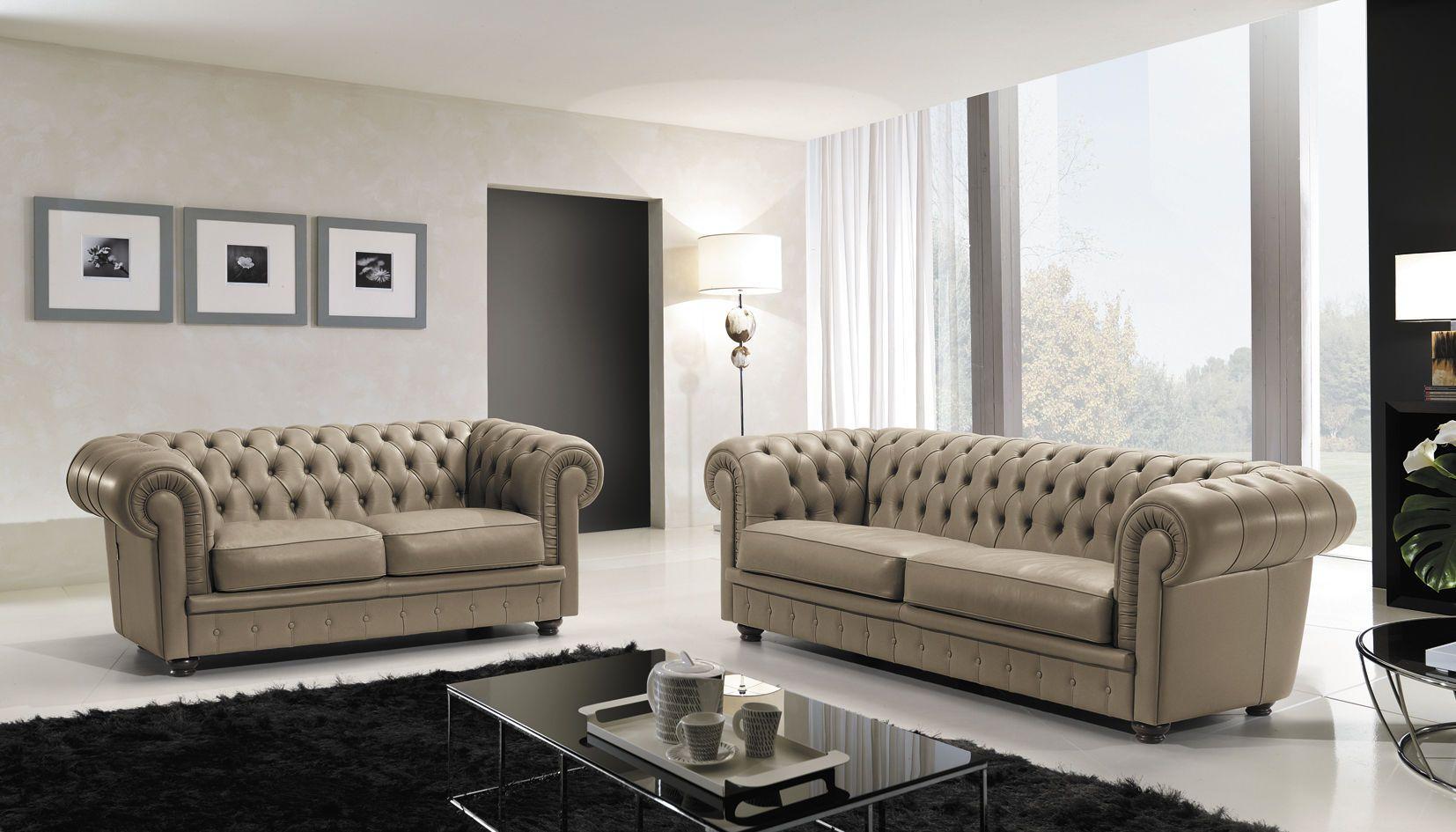 Chesterfield sofa - HERMES MAXDIVANI - Max Divani Maxdivani ...