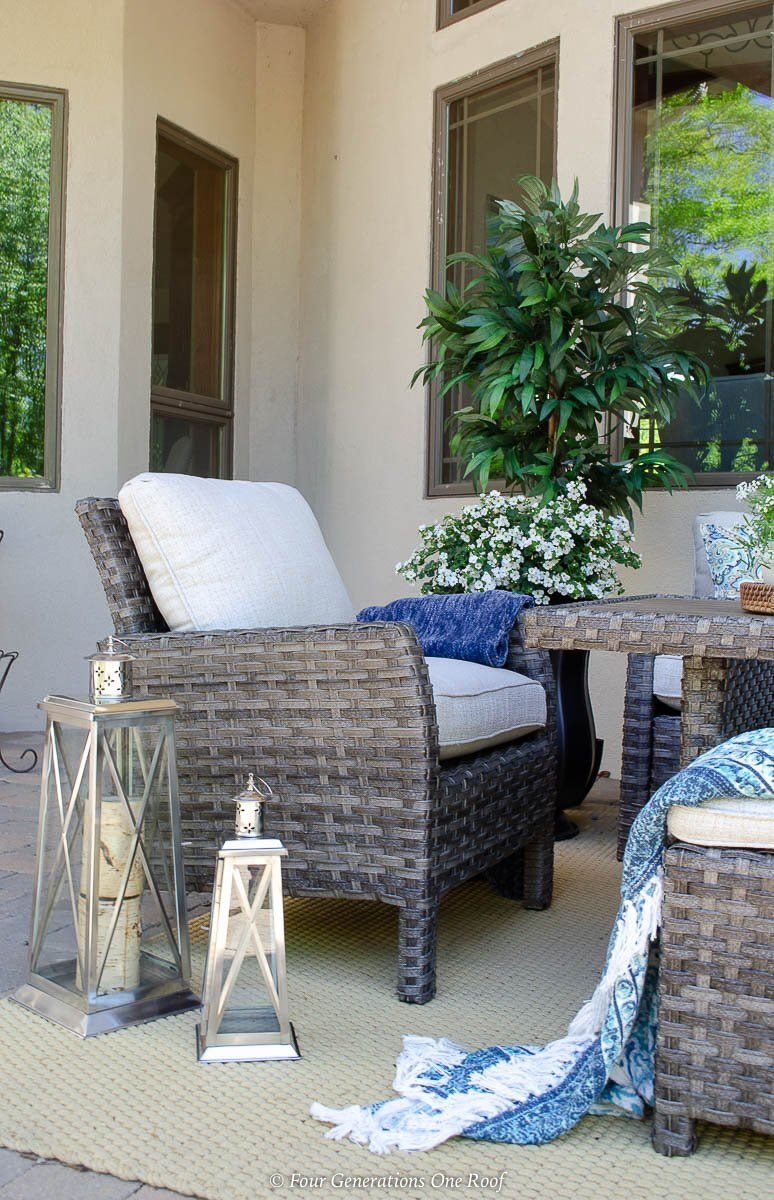 Make The Most Of Those Sunny Days And Clear Evenings With The Cozy Antigua Outdoor Chair The Wicker In 2020 Outdoor Chairs Outdoor Furniture Sets Outdoor Curtain Rods
