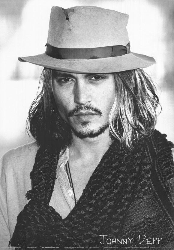 Johnny Depp 11x17 Movie Poster 2003