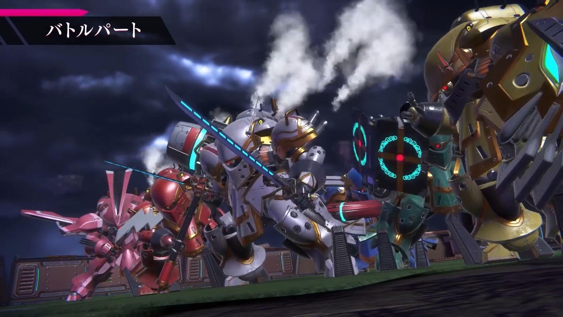 حوالي الـ40 ساعة تقدمها Project Sakura Wars لإنهاء القصة Sakura