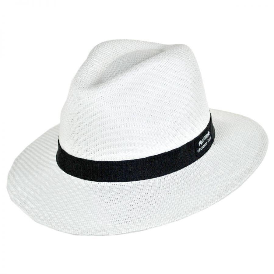 Panama Jack Ribbon Toyo Straw Safari Fedora Hat 5d7096c49e57