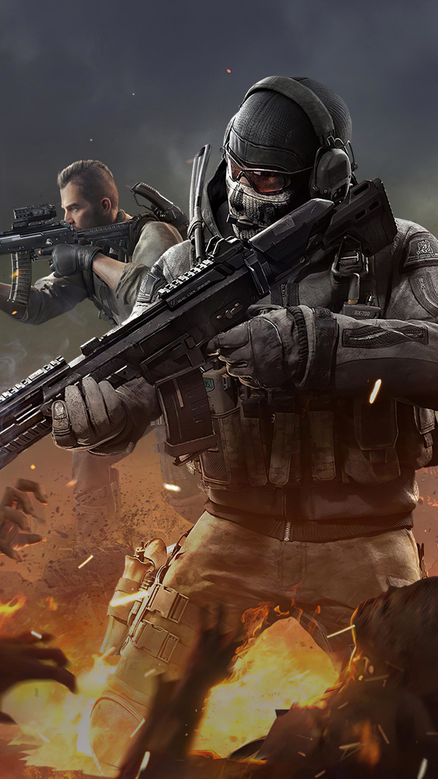 Ghost Player Call of Duty Mobile 4K Ultra HD Mobile