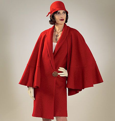 Pattern Reviews> McCall's> 7259 (Misses' Coat and Detachable Cape and Collar)