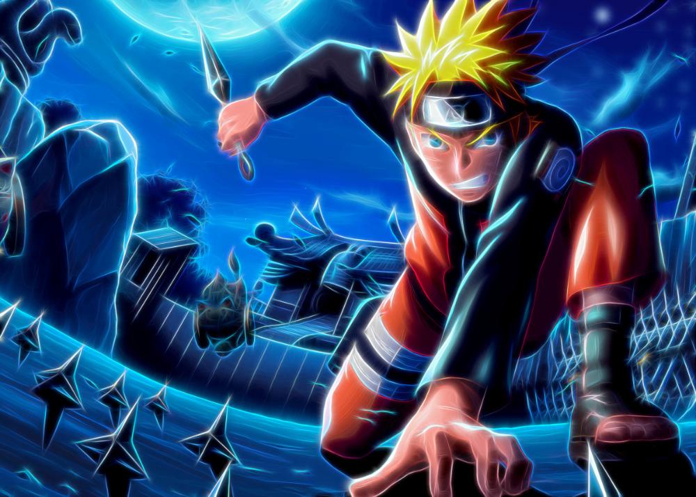 Naruto 3 Metal Poster Print Absolute Art Displate In 2020 Hd Anime Wallpapers Cool Anime Wallpapers Anime Naruto