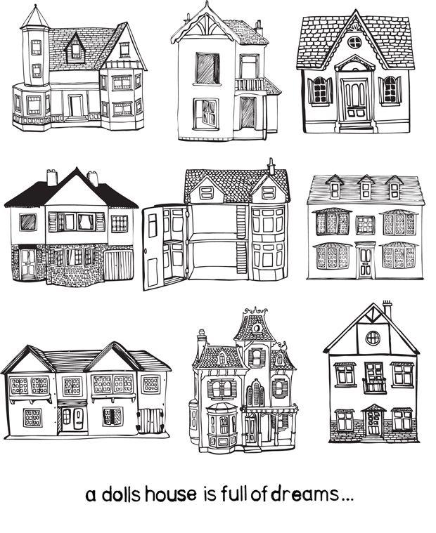 City Scenes Illustrated Building Illustration City Scene House