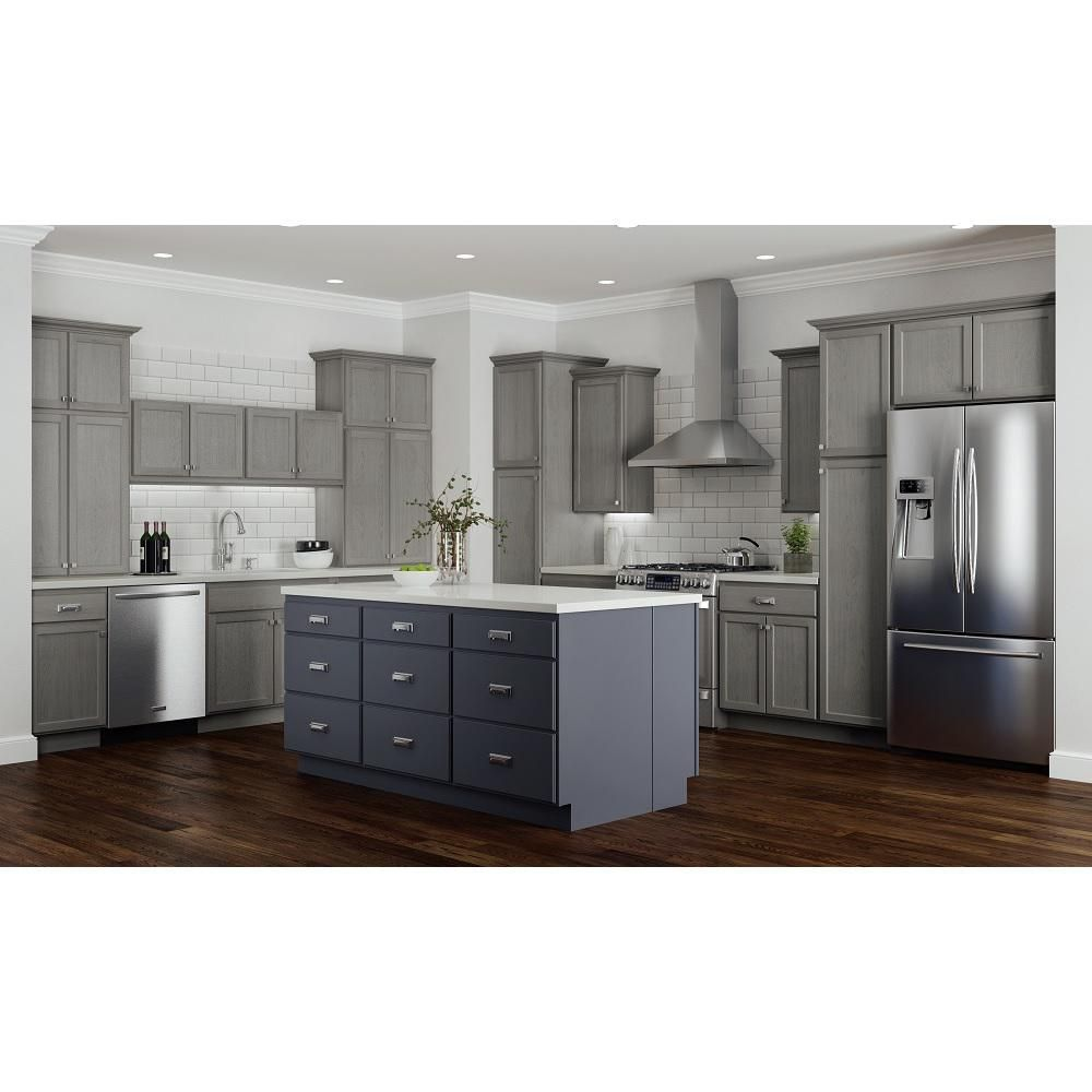 Hampton Bay Hampton Assembled 54x24x12 In Wall Kitchen Cabinet In Unfinished Beech Kw5424 Uf The Home Depot Kitchen Cabinets Unfinished Kitchen Cabinets Wood Kitchen Cabinets