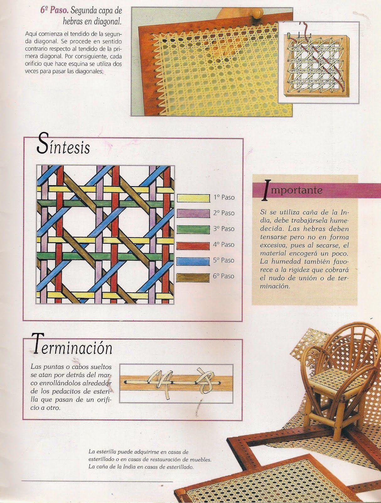 tejidos a telar, | Кожа, узлы | Pinterest | Weaving, DIY Furniture y ...