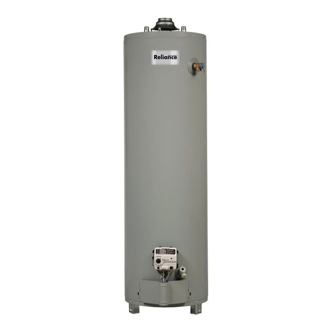 Image Of Reliance 20 40 Gallon Gas Water Heater