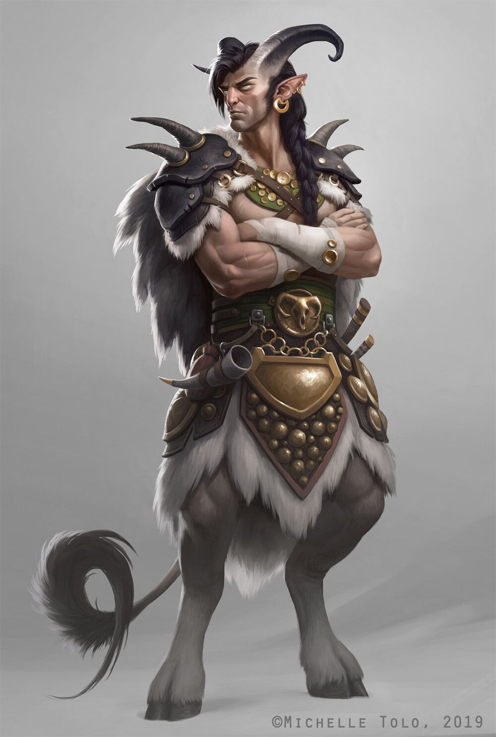 Warrior Faun by emilyrosa on DeviantArt |Faun Art