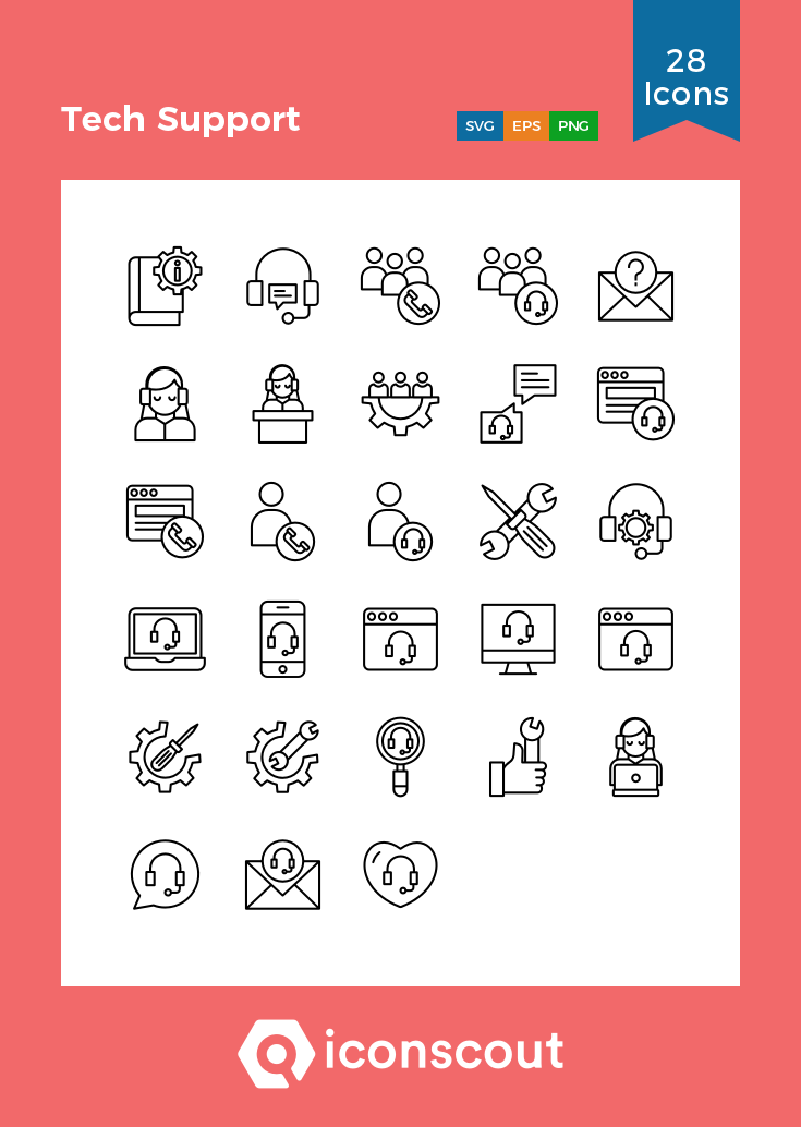 Download Tech Support Icon Pack Available In Svg Png Eps Ai Icon Fonts Support Icon Icon Pack Supportive