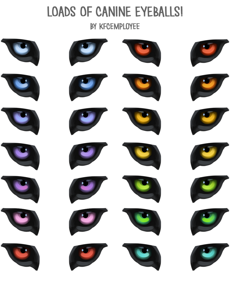 Free Canine Or Wolf Eyes Png And Psd By Kfcemployee Wolf Eyes Dog Eyes Eyes