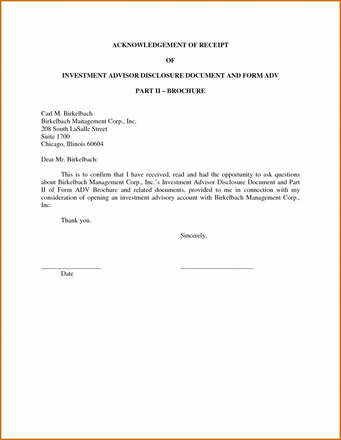 Browse Our Free Investment Receipt Template Letter Templates Printable Letter Templates Lettering