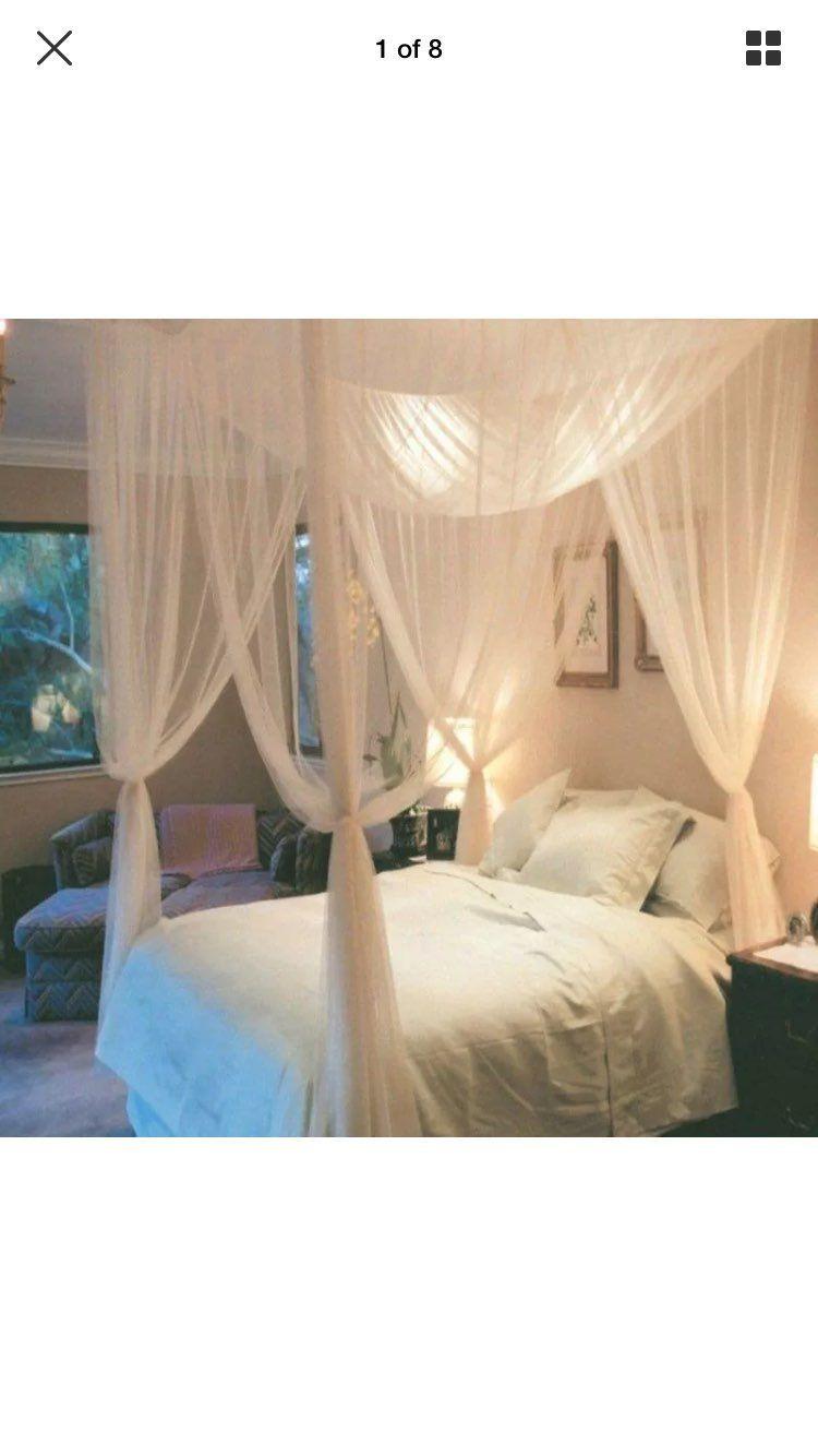 Queen Mosquito Net Canopy Diy Bed Mercari Buy Sell Things You Love Mosquito Net Bed Bed Net Bed