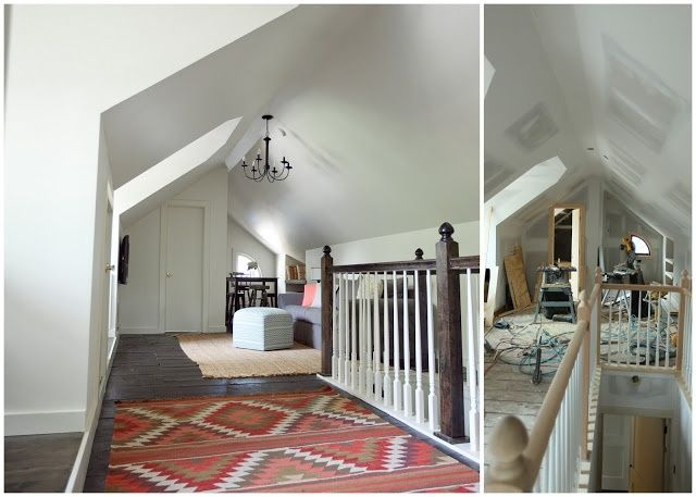 Attic Renovation Seriously Amazing Attic Remodel In A
