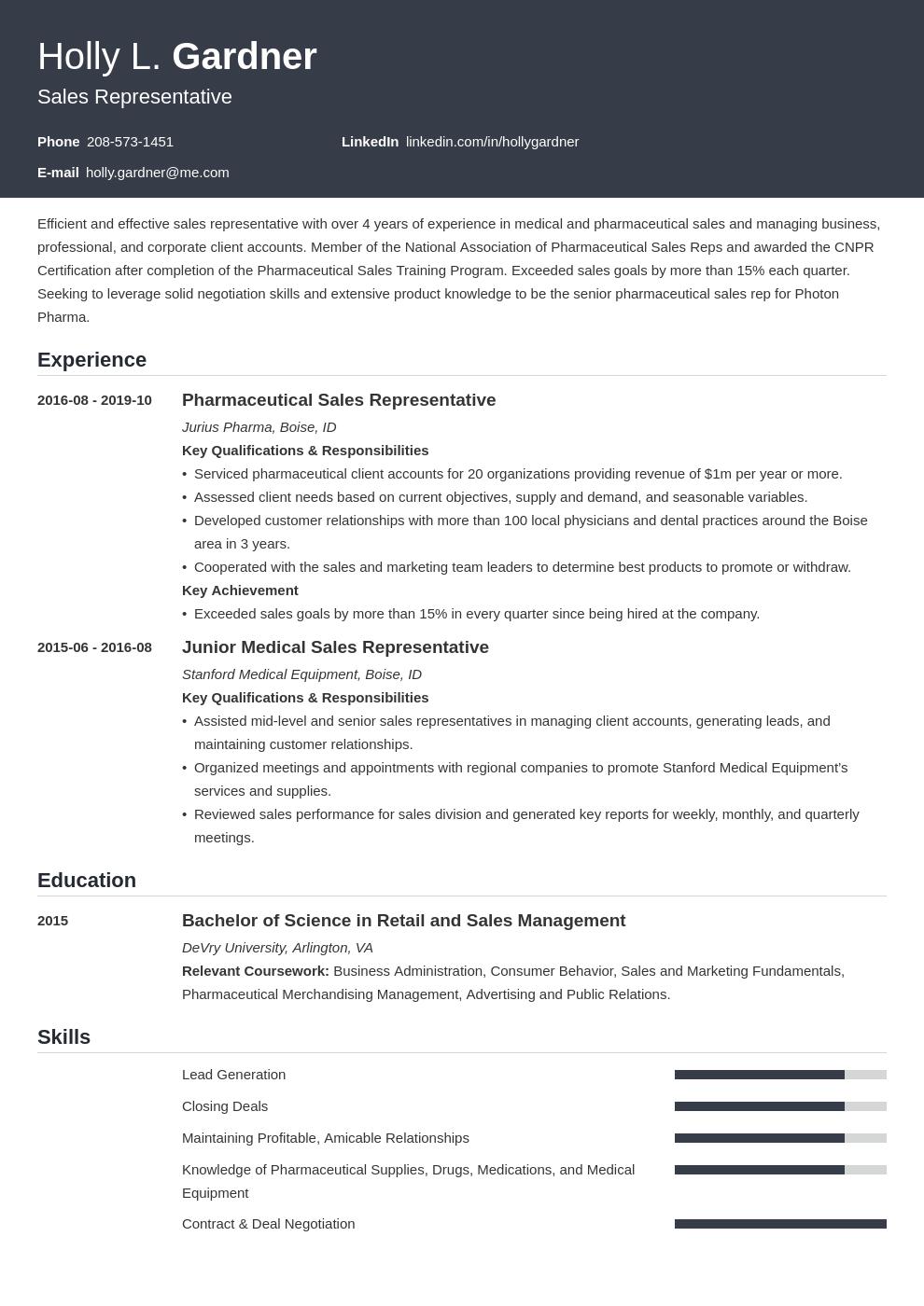 sales representative resume example template influx in