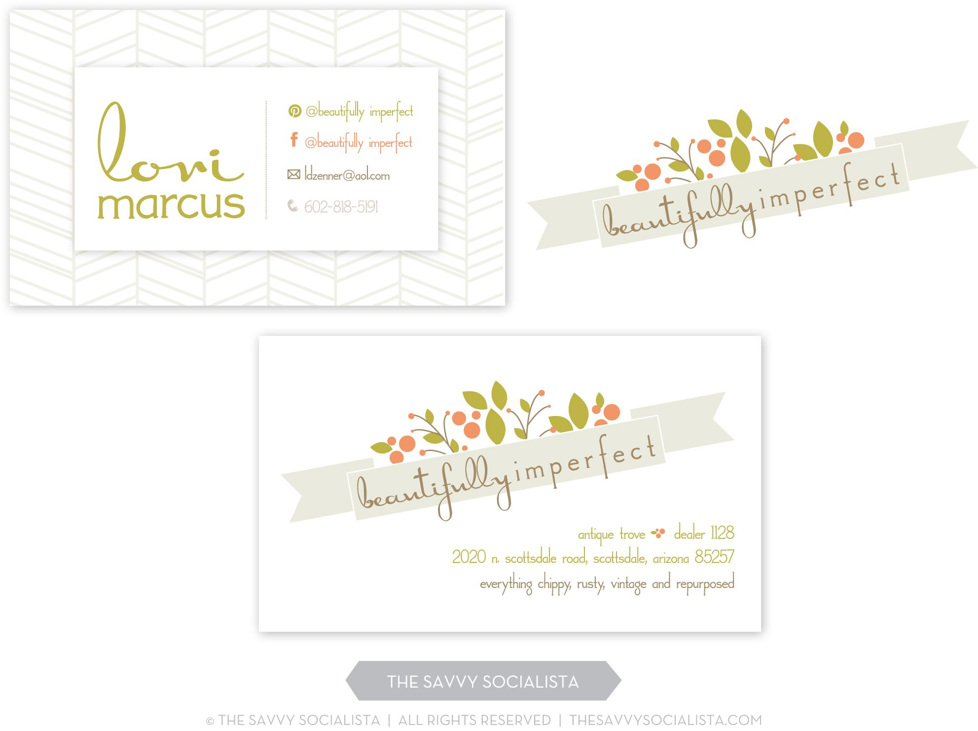 Beautifully imperfect logo and business cards created by the beautifully imperfect logo and business cards created by the savvy socialista magicingreecefo Gallery