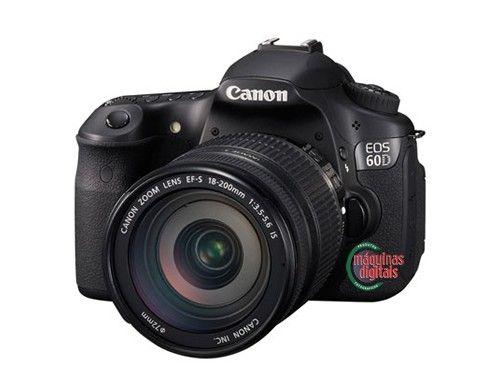 Canon 60D | Maquinas Profissionais | Pinterest