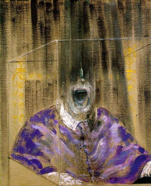 Francis Bacon, Study After Velazquez's Portrait of Pope Innocent X, 1953