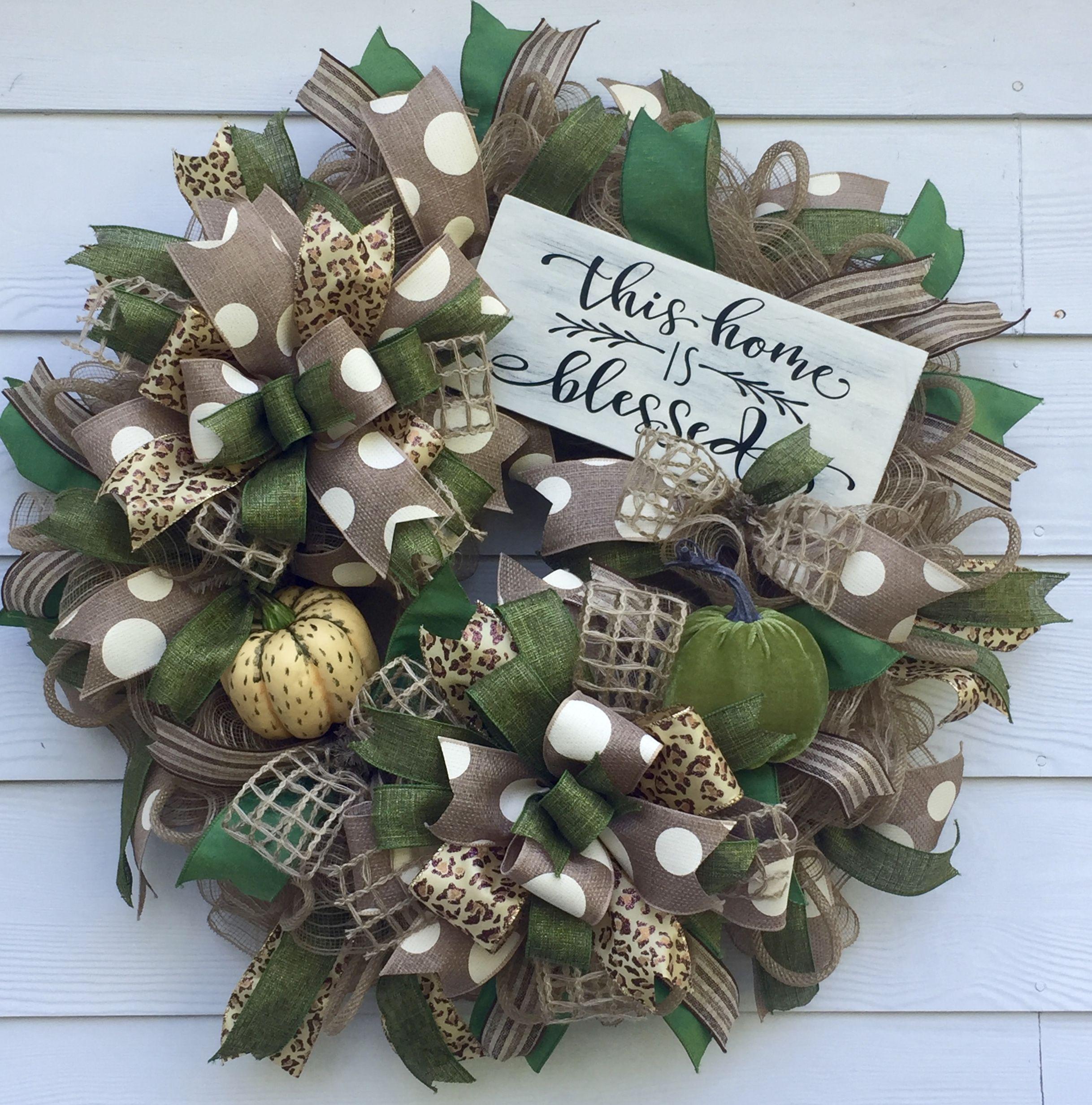 Best Fall Wreath, Thanksgiving Wreath, Front Door Wreath