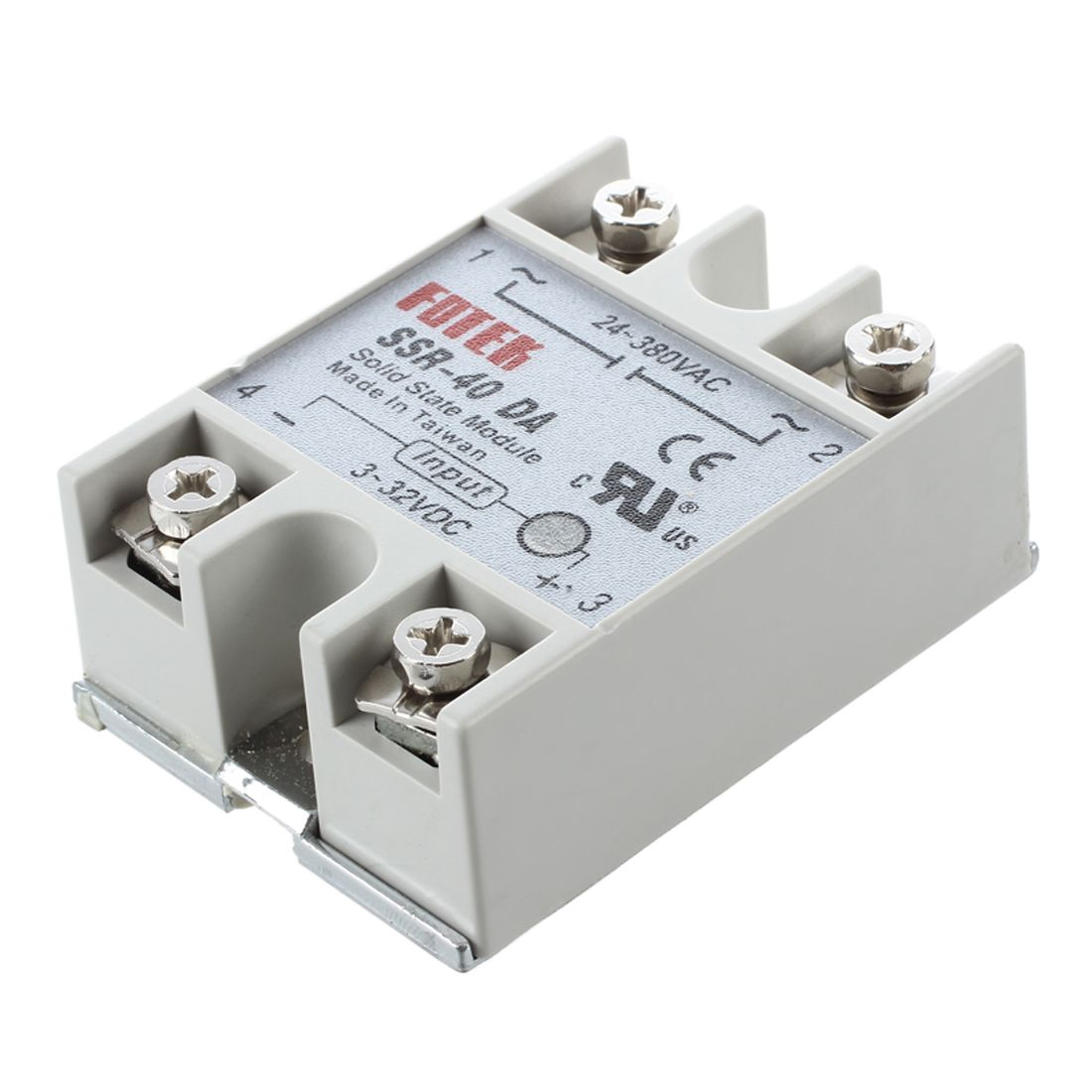 Dsha New Hot Temperature Control Solid State Relay Ssr 40da 40a Latch Up 3 32v