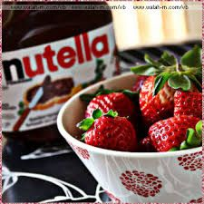 Nutella Food Strawberry