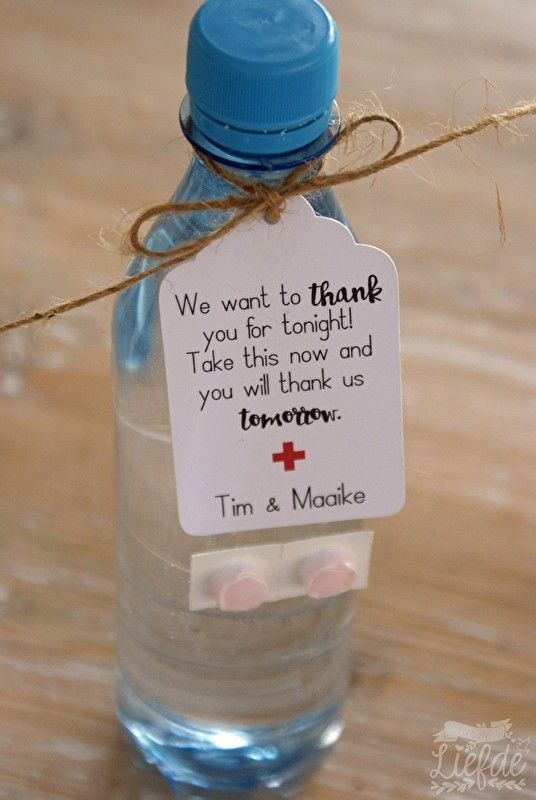 Useful favours #bachlorettepartyideas