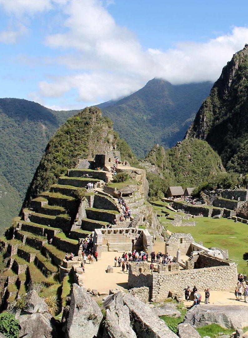 The Sacred Sector Of Machu Picchu Where The Inca Cross Is Located Machu Picchu Travel Picchu Day Trip