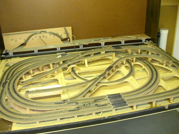 4x8 n scale track plans image results smoothie pinterest scale model train - Ho scale layouts for small spaces concept ...