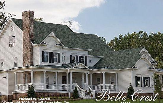 Garrell ociates, Inc.Belle Crest House Plan # 01288,Design by ...