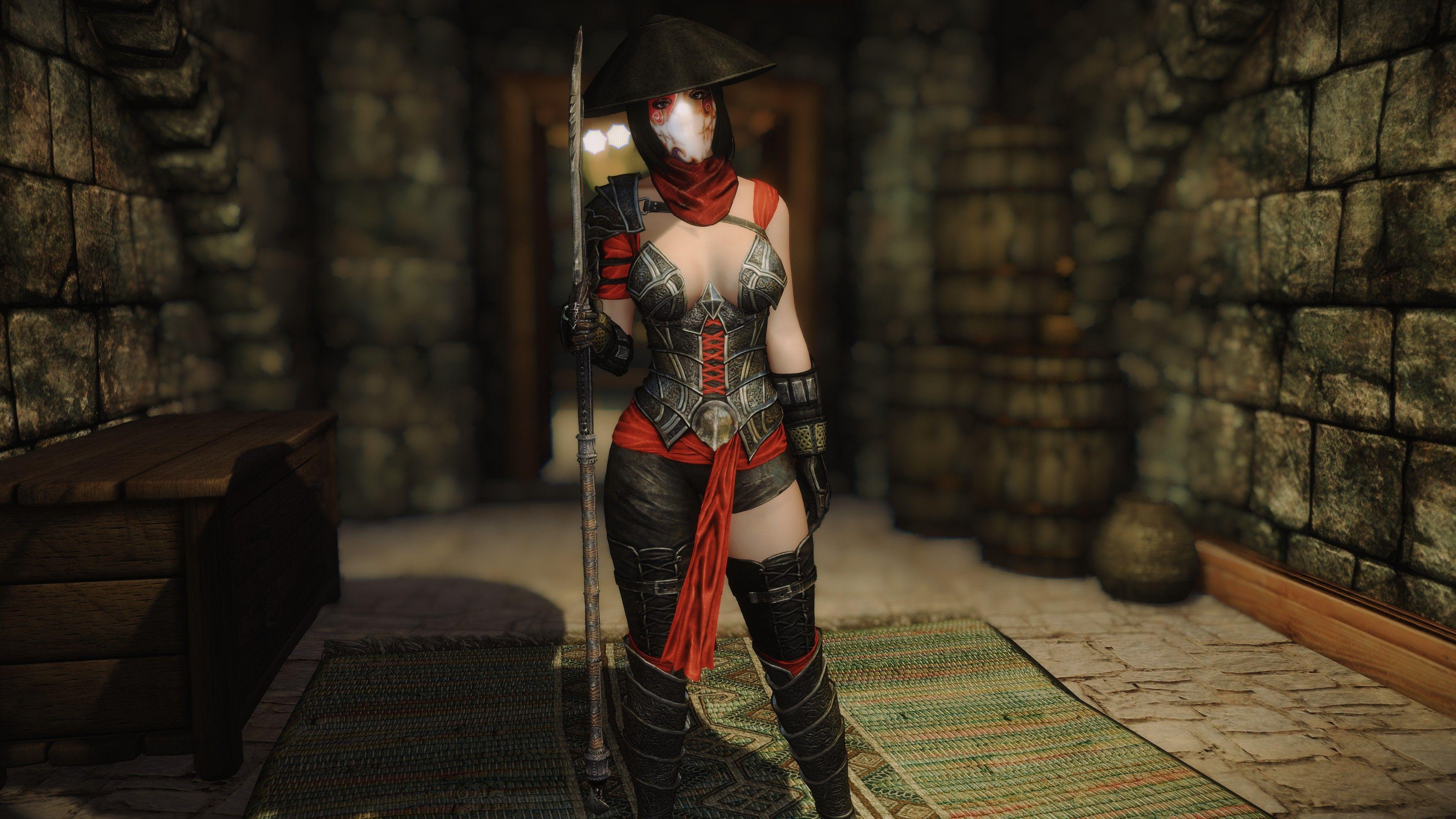 Crimson Twilight Armor - CBBE SSE at Skyrim Special Edition Nexus